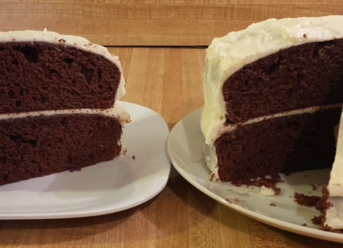 Devil's food cake with cake mix is an easy chocolate cake recipe.