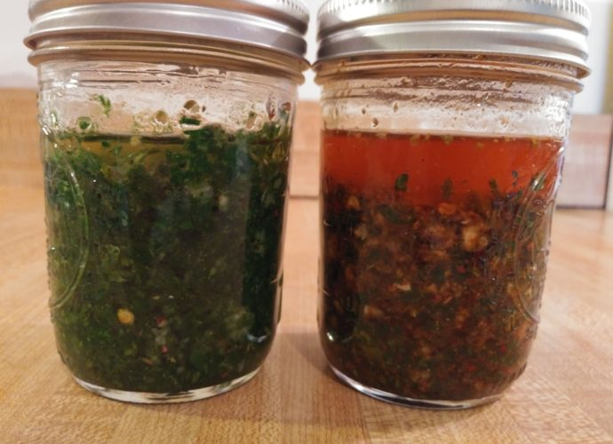 Chimichurri Sauce Recipe from Argentina